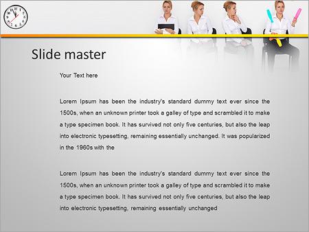 Шаблон PowerPoint Секретарь - Второй слайд