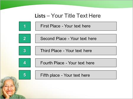 Шаблон для презентации Бабушка - Третий слайд