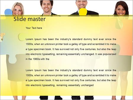 Шаблон PowerPoint Мозговой штурм - Второй слайд