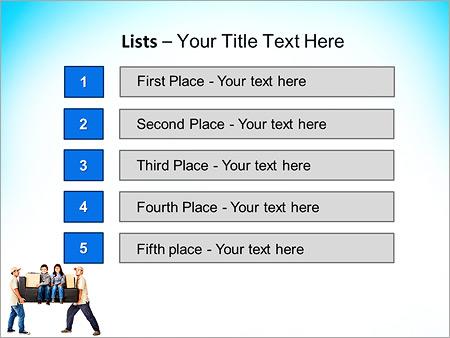 Шаблон для презентации Грузчики и грузоперевозки - Третий слайд