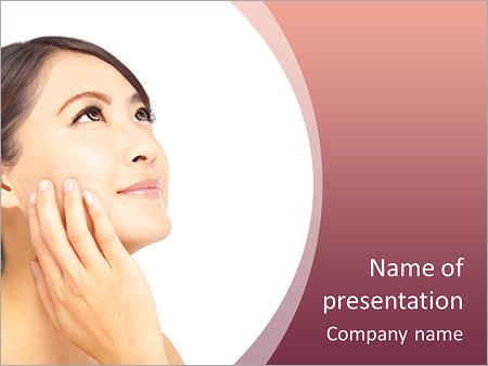 Шаблон презентации Уход за лицом - Титульный слайд