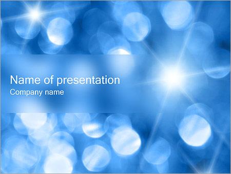 Шаблон презентации Размытые пятна - Титульный слайд