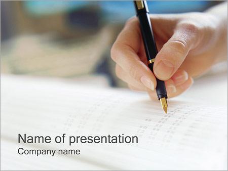 Шаблон презентации Учет налогов - Титульный слайд
