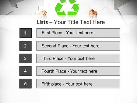Шаблон для презентации Экологическая переработка - Третий слайд