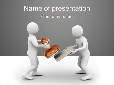 Шаблон презентации Печать на документы - Титульный слайд