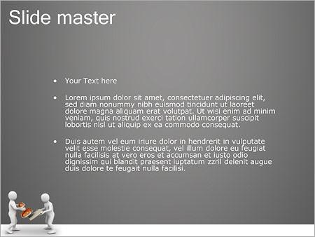 Шаблон PowerPoint Печать на документы - Второй слайд