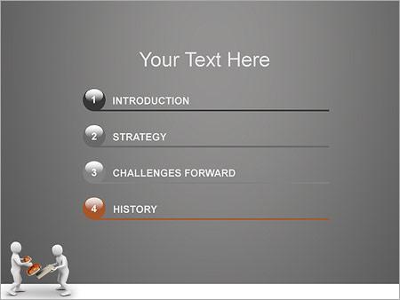Шаблон для презентации Печать на документы - Третий слайд
