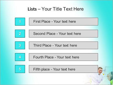 Шаблон для презентации Пациент на приеме у стоматолога - Третий слайд