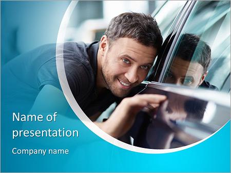 Шаблон презентации Подбор автомобиля - Титульный слайд