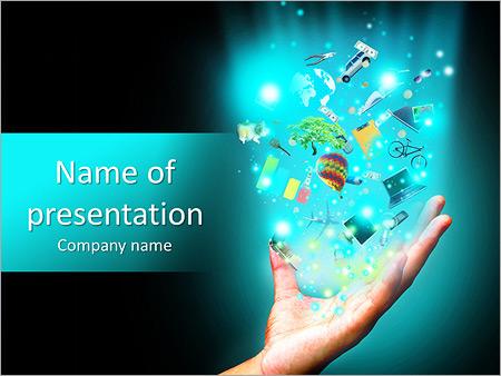 Шаблон презентации Увлечения и хобби - Титульный слайд