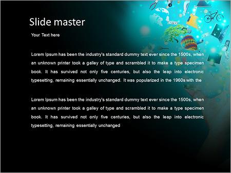 Шаблон PowerPoint Увлечения и хобби - Второй слайд